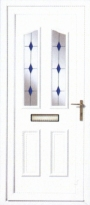 Blue Astral uPVC Door