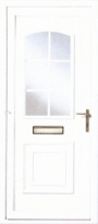 Georgian K uPVC Door
