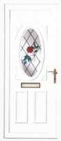 Rose Spray uPVC Door