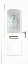 T-Rose uPVC Door