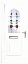 Twin Rose uPVC Door
